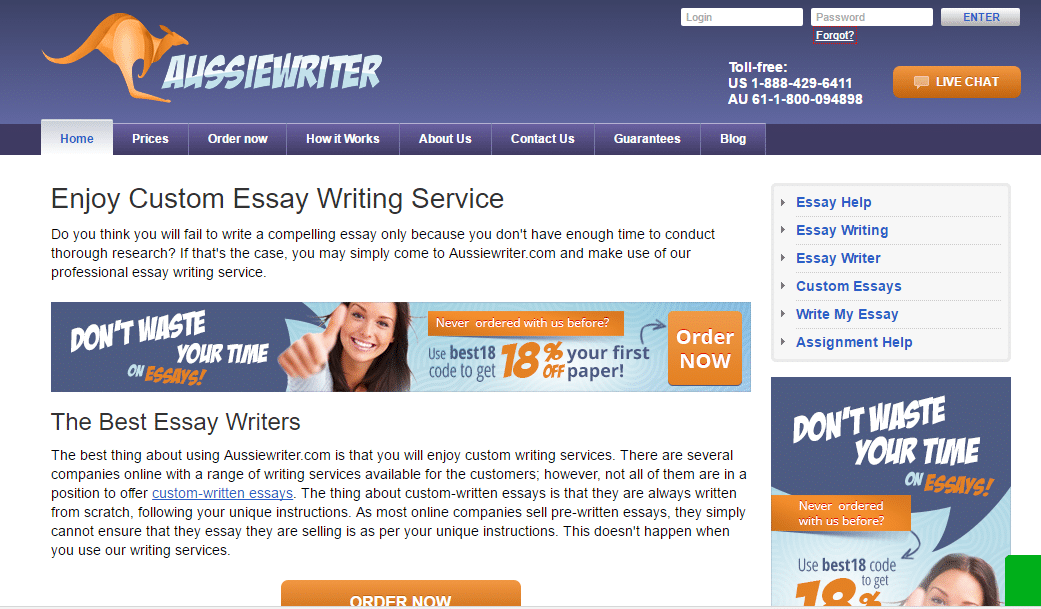 aussiewriter.com review