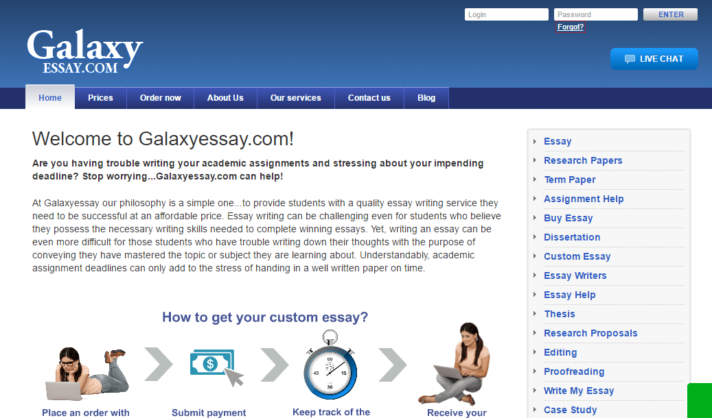 reviews galaxyessay com review